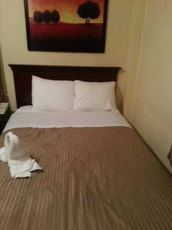 Baldwin Hotel: The bed