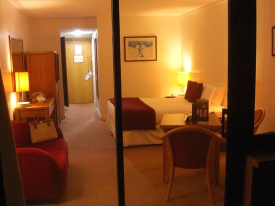 Ferrycarrig, Ireland: our room