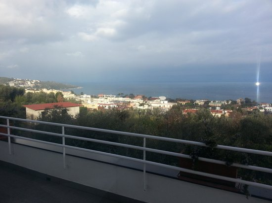 Villa Oriana Relais : Sea view balcony