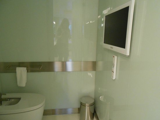The Mirror Barcelona: bagno wc/bidet