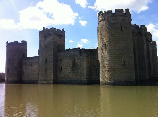 Bodiam, UK: Lovely place for a picnic