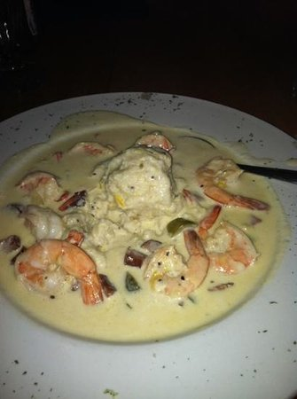 Scottsboro, AL: shrimp and grits!