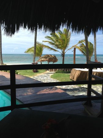 Zoetry Agua Punta Cana: View having lunch at Indigo