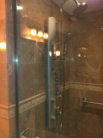 Grand Harbor Inn: exquisite shower