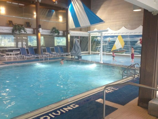Indoor Pool With Splash Area Picture Of Maumee Bay Lodge And Conference Center Oregon