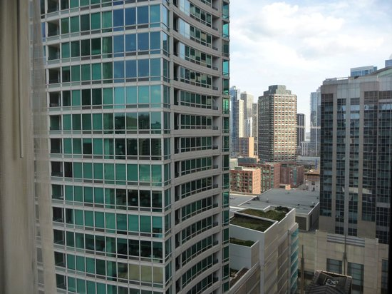 Doubletree by Hilton Chicago Magnificent Mile: View from our room