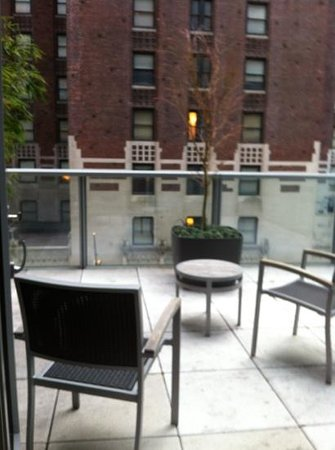 Hyatt 48 Lex: great private terrace
