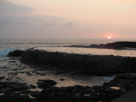 Aston Kona by the Sea: A view from the property at sunset
