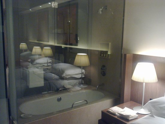 Trident, Bandra Kurla, Mumbai: View of Bath Area from Room