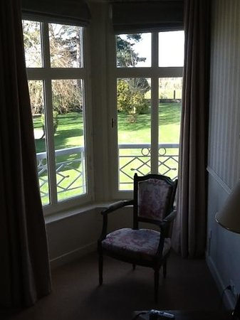 Chateau La Cheneviere: view from my room