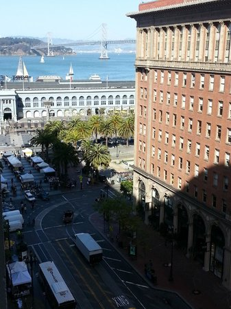 Hyatt Regency San Francisco: Looking towards Ferry Building