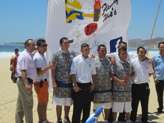Royal Solaris Los Cabos: Bartender competition