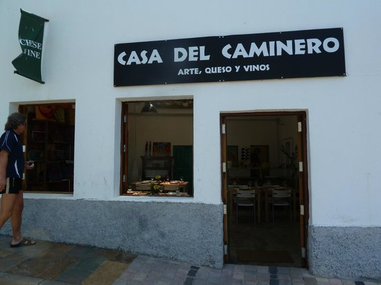 Tejeda, Espagne : das Restaurant 