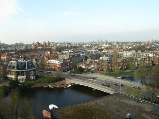 Hilton Amsterdam: Panoramic View