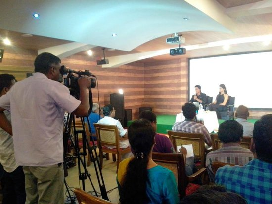 The Silver Tips Munnar: Press conference of Sharukh khan