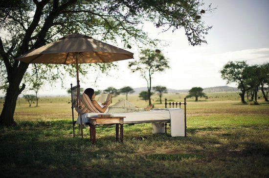 Unwinding at Singita Sabora tented Camp is a truly unique experience.