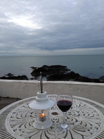 Skerries, Irland: after dinner ...