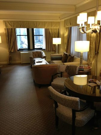 Warwick New York Hotel: Our suite