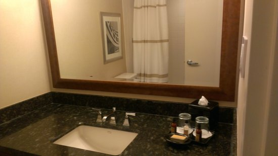 Bethesda Marriott: Bathroom