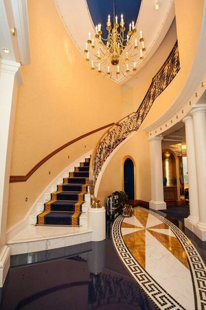 Staircase in the room picture of burj al arab jumeirah for Burj al arab rates