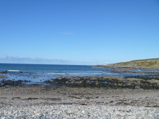 Portsoy, UK: view from where we were parked