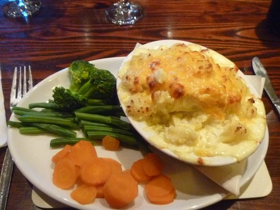 Portsoy, UK: fish pie
