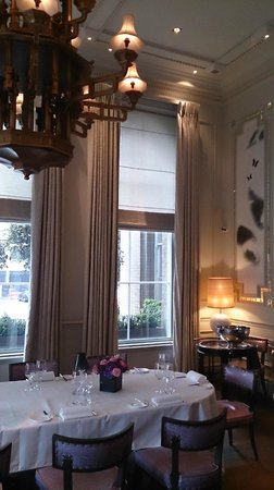The Langham, London: Private Room at ROUX