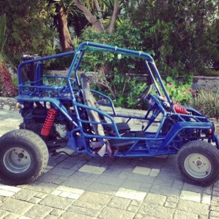 Gaia Garden: Rented dune buggy 40 euro