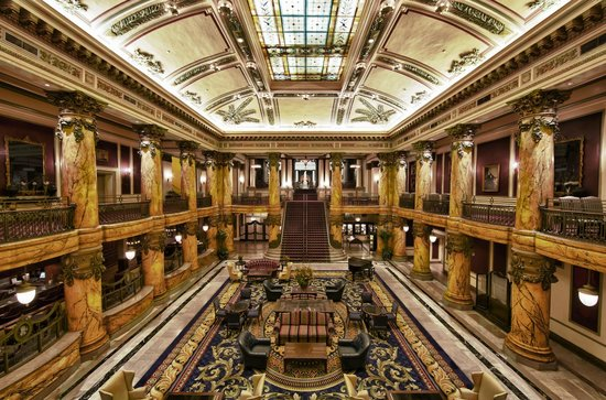 The Jefferson Hotel: Grand Staircase and Rotunda Lobby