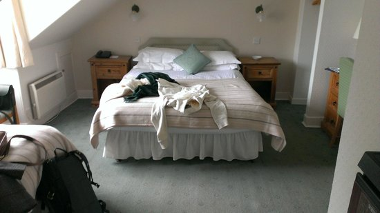 Albany Hotel: Double bed