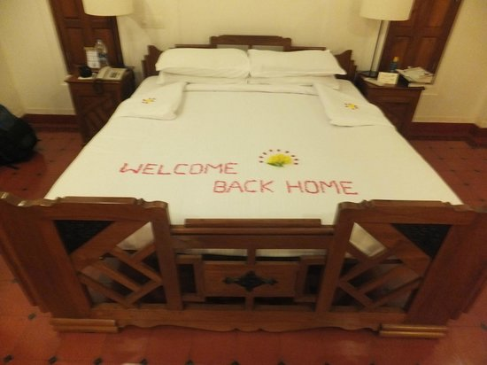 Kanadukathan, India: Welcome Home!!