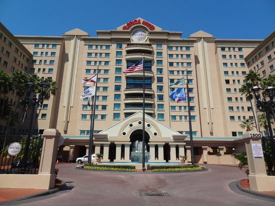 The Florida Hotel and Conference Center : Main Entrance