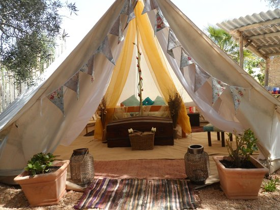 Tipi Algarve, Glamping