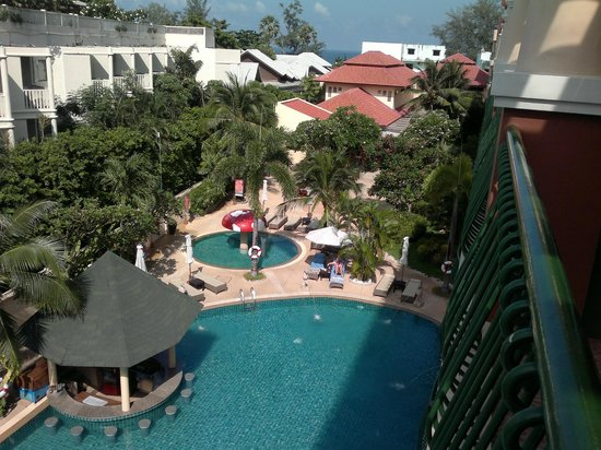 Karon Sea Sands Resort & Spa: Вид с балкона