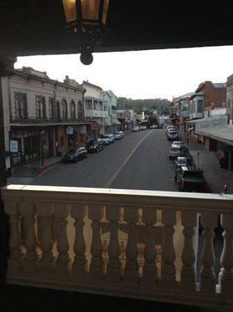 Jackson, CA: Balcony view