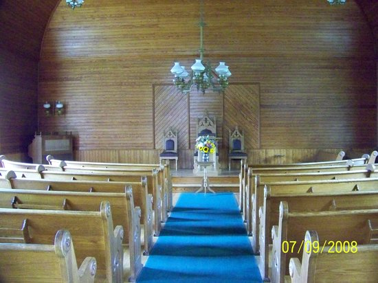 Plymouth, VT: Inside Church