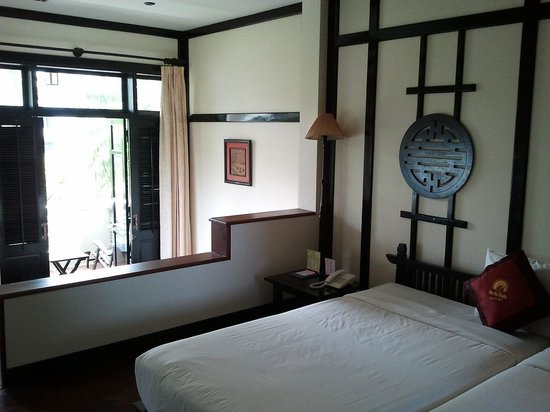 Hoi An Trails Resort: chambre deluxe