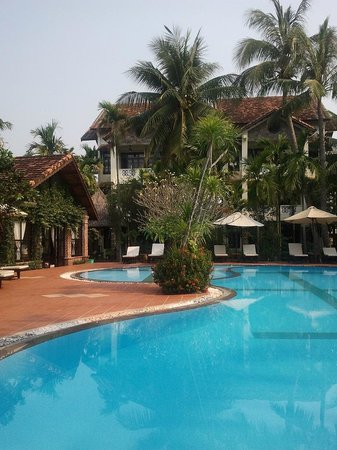 Hoi An Trails Resort: belle piscine