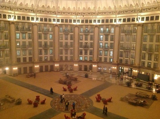 Atrium View of West Baden Springs Hotel
