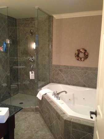 Harbour House Hotel: Bathroom in the Premium Room