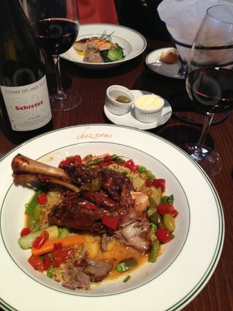 Lee, : spring 2013 lamb shank