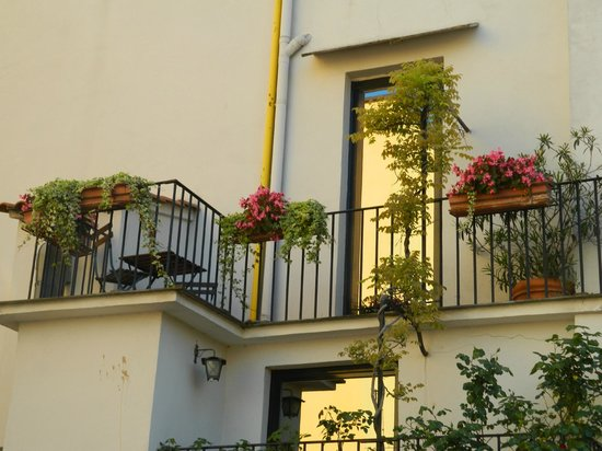 Hotel Alpi: Our balcony