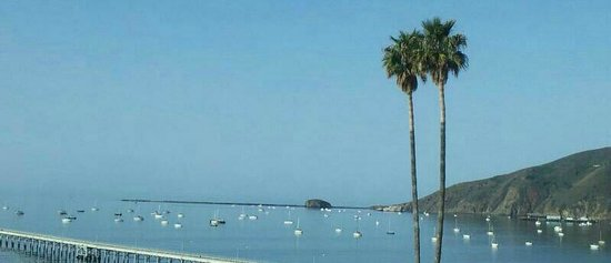 Avila Beach, CA: The view from our balcony in room 305