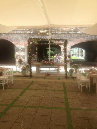 Fiesta Americana Hacienda San Antonio El Puente Cuernavaca: weeding area