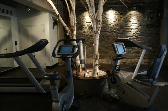 Auberge Saint-Antoine: Fitness Centre