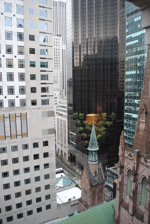 The Peninsula New York: View from my room