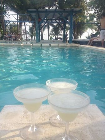 St Julien Hotel and Spa: margaritas con mis mamacitas