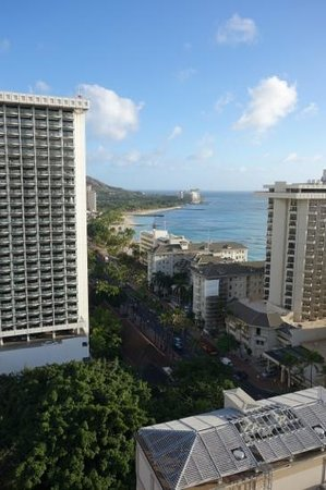 Holiday Inn Waikiki Beachcomber Resort Hotel: ダイアモンド側からの眺め
