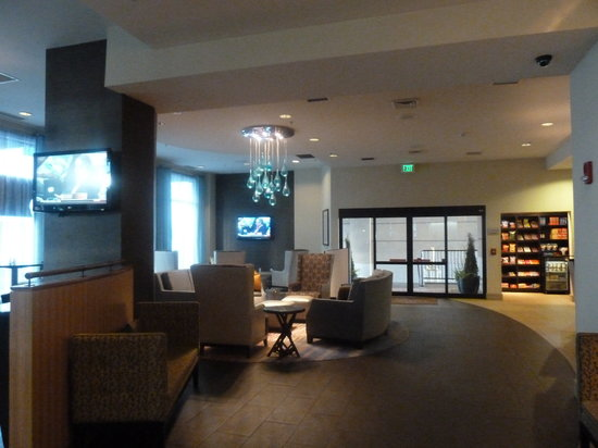 ‪‪SpringHill Suites Seattle Downtown/South Lake Union‬: Lobby‬