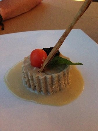 Marival Residences &amp; World Spa: coffee cheesecake